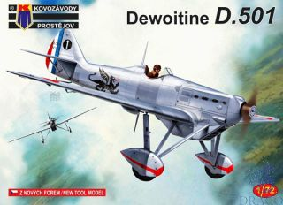 Dewoitine D.501 1/72 [AZmodel]