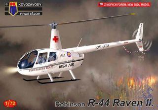 Robinson R-44 Raven II. 1/72 [AZmodel]