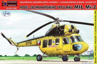 Model záchraná?ského vrtulníku MIL Mi-2 (Club Line) 1/48 [AZmodel]