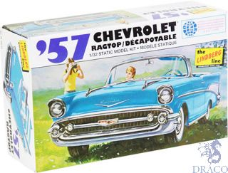 1957 Chevrolet Ragtop 1/32 [Lindberg]