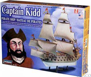 Captain Kidd Pirate Ship 1/130 [Lindberg]