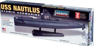 USS Nautilus Atomic Submarine 1/300 [Lindberg]
