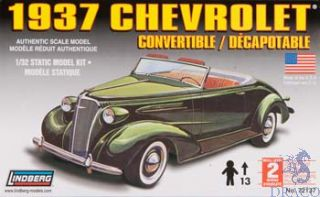 1937 Chevrolet Convertible 1/32 [Lindberg]