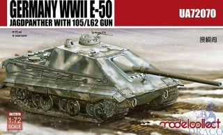 Germany WWII E-50 Jagdpanther With105/L62 Gun 1/72 [ModelCollect] [ModelCollect]