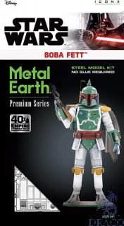 Boba Fett [Metal Earth Premium Series: Star Wars - Empire Strikes Back]