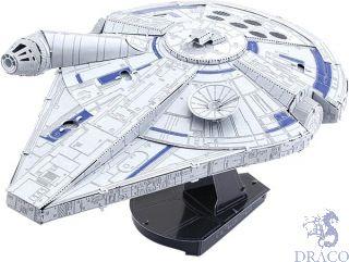 Lando's Millennium Falcon [Metal Earth: Star Wars - Solo [ICONS]]