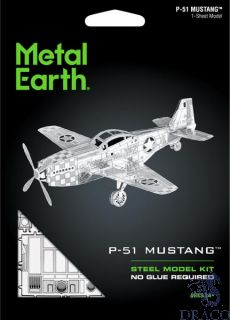 P-51 Mustang [Metal Earth: Aviation]