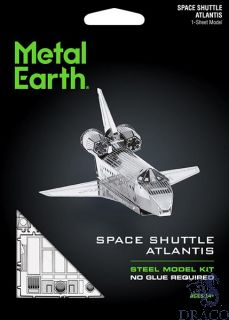 Space Shuttle Atlantis [Metal Earth: Space]