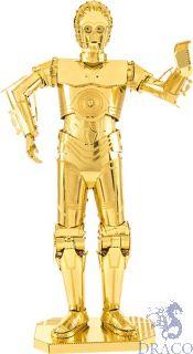 C-3PO [Metal Earth: Star Wars - The Last Jedi]