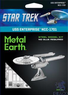 USS Enterprise NCC-1701 [Metal Earth: Star Trek]