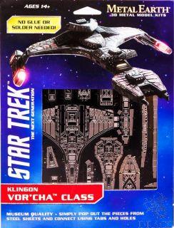Klingon Vor'cha Class [Metal Earth: Star Trek]