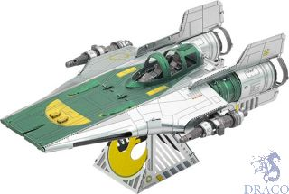 Resistance A-Wing Fighter  [Metal Earth: Star Wars - The Rise of Skywalker]