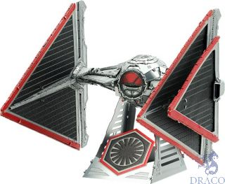 Sith Tie Fighter  [Metal Earth: Star Wars - The Rise of Skywalker]