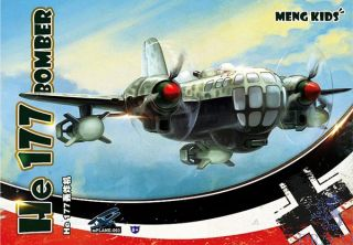 Meng Kids: He 177 Bomber Special Edition - White sprues [Meng]
