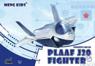 Meng Kids: PLAAF J20 Fighter [Meng]