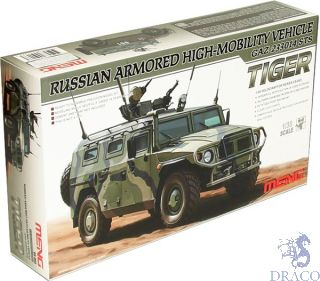 Russian Armored High-Mobility Vehicle GAZ-233014 STS Tiger 1/35 [Meng]