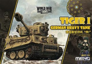 World War Toons: German Heavy Tank Tiger I [Meng]