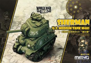 World War Toons: U.S. Medium Tank M4A1 Sherman [Meng]