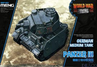 World War Toons: German Medium Tank Panzer III [Meng]