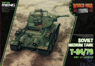 World War Toons: Soviet Medium Tank T-34/76 [Meng]