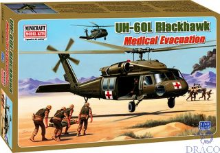UH-60L Blackhawk Medical Evacuation 1/48 [Minicraft]