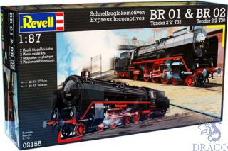 Express Locomotives BR01 + BR02 1/87 (H0) [Revell]