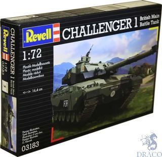 Challenger 1 British Main Battle Tank 1/72 [Revell]