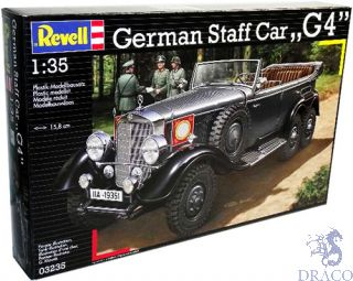 German Staff Car G4 1/35 [Revell]