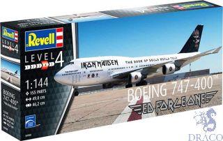 "Boeing 747-400 ""Iron Maiden"" 1/144 [Revell]"