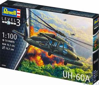 UH-60A 1/100 [Revell]