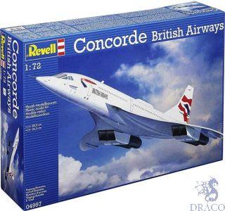 Concorde British Airways 1/72 [Revell]