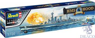 100th Anniversary HMS Hood Gift Set 1/720 [Revell]