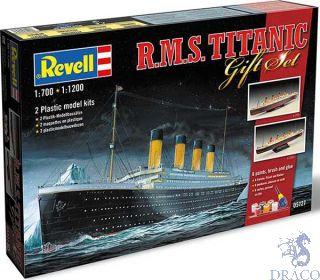 R.M.S. Titanic Gift Set 1/700 + 1/1200 [Revell]