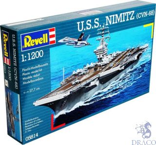 U.S.S. Nimitz (CVN-68) 1/1200 [Revell]