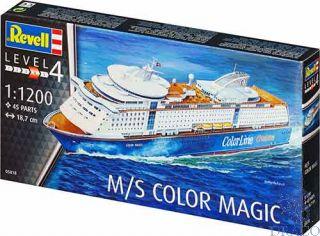 M/S Color Magic 1/1200 [Revell]