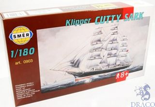 Klipper Cutty Sark  1/180 [Smer]