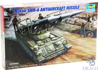 Russian SAM-6 Antiaircraft Missile 1/35 [Trumpeter]
