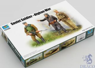 Soviet Soldier-Afghan War 1/35 [Trumpeter]