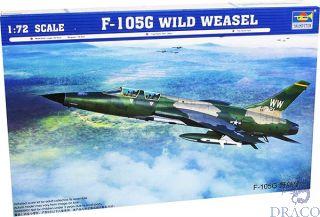F-105G Wild Weasel 1/72 [Trumpeter]