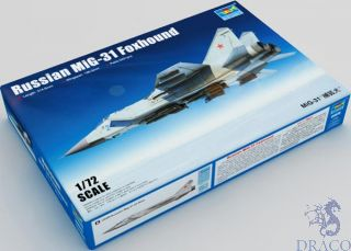 Russian MiG-31 Foxhound 1/72 [Trumpeter]