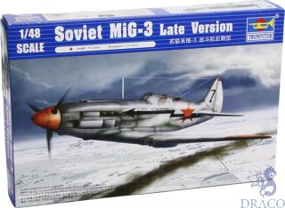 MiG-3 Late Version 1/48 [Trumpeter]