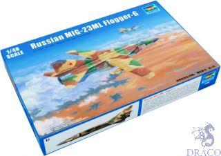 Russian MIG-23ML Flogger-G 1/48 [Trumpeter]