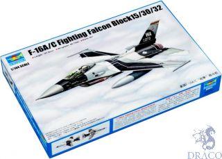 F-16A/C Fighting Falcon Block15/30/32 1/144 [Trumpeter]