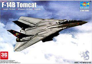 F-14B Tomcat 1/144 [Trumpeter]