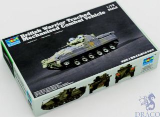 British Warrior Tracked Mechanised Combat Vehicle 1/72 [Trumpeter]