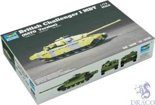 British Challenger 1 MBT (NATO Version) 1/72 [Trumpeter]