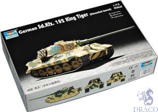 German Sd.Kfz. 182 King Tiger (Henschel Turret) 1/72 [Trumpeter]