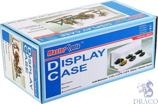Display Case 232x120x86mm (stepped base) [Trumpeter]