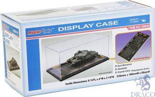 Display Case 210x100x80mm - prepainted base [Trumpeter]