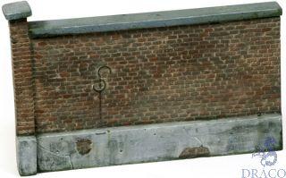 Vallejo Diorama Accessories 005: Old Brick Wall 15x10 cm 1/35